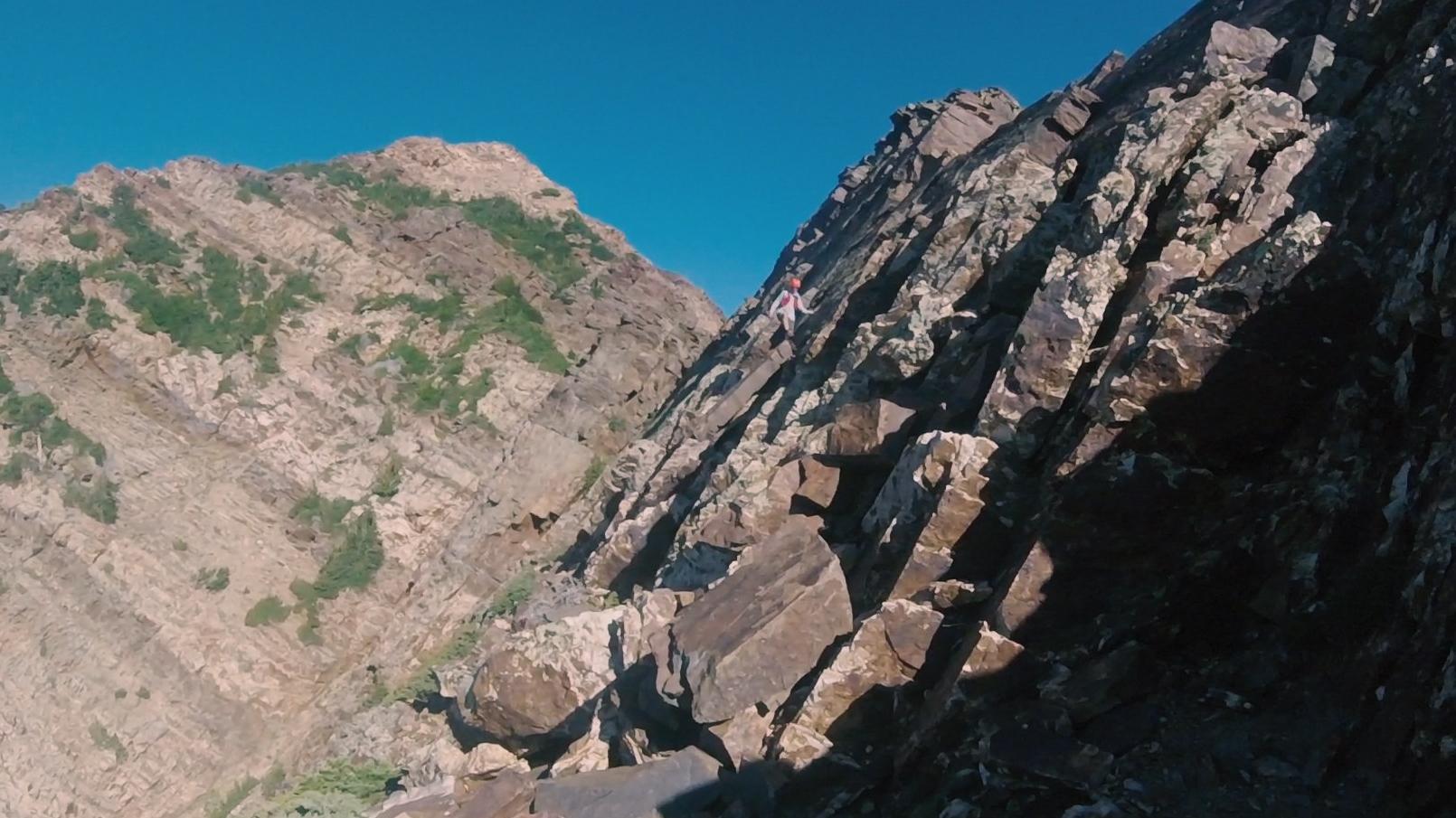 Descending Twin Peaks