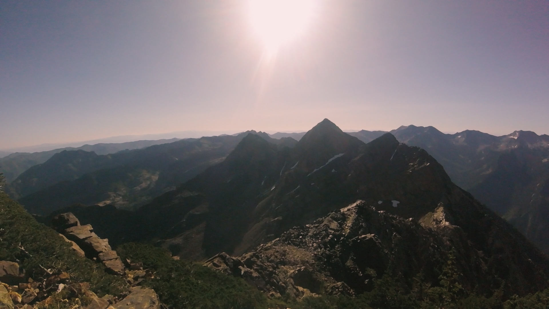 Rest of the ridge