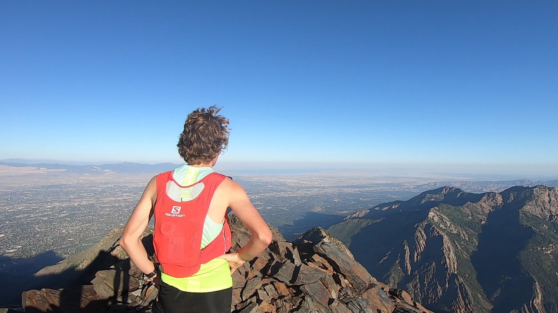 Top of first peak